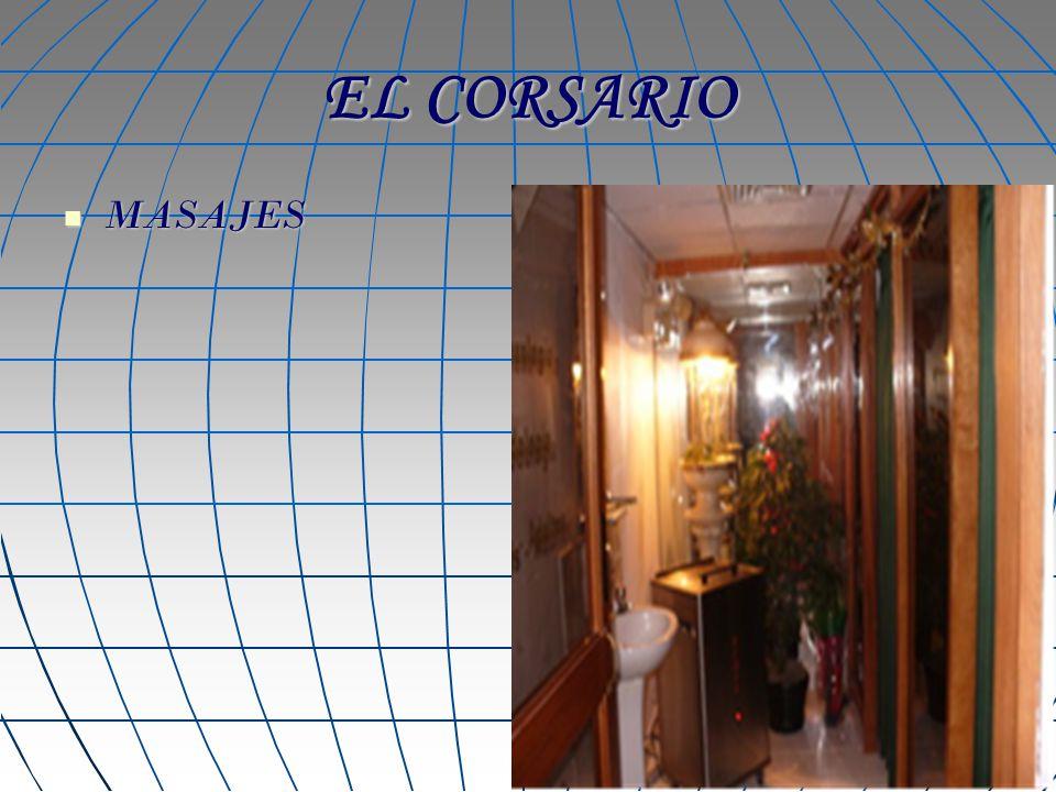 EL CORSARIO MASAJES