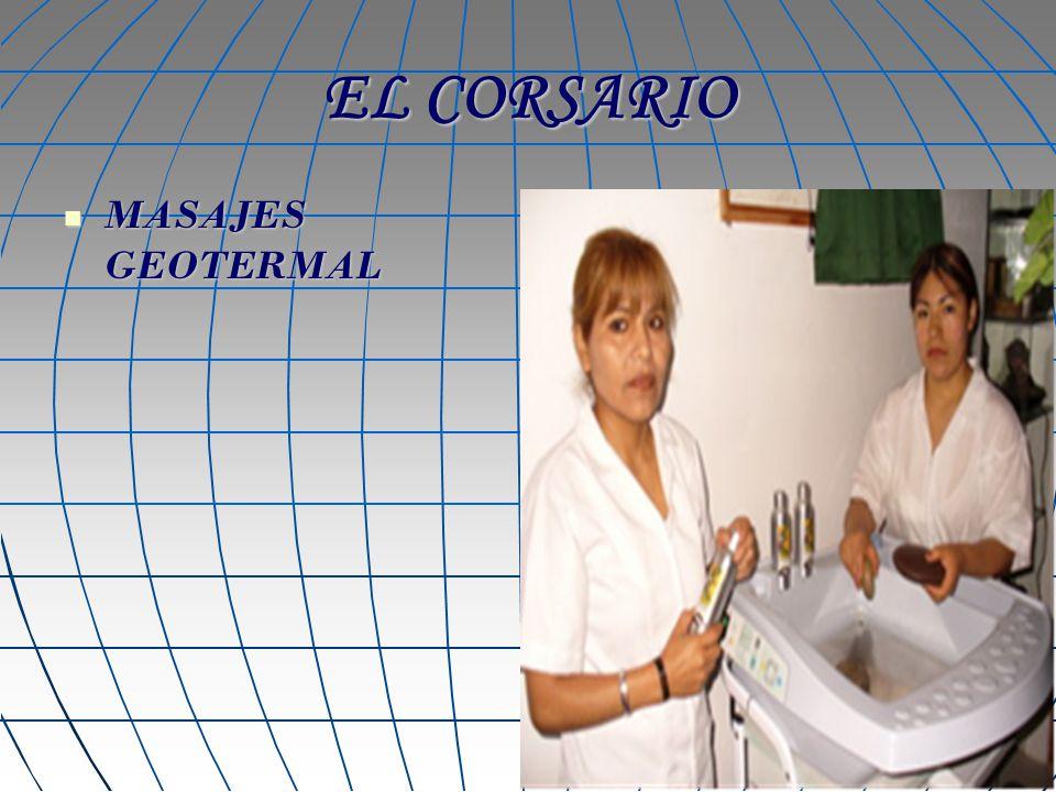 EL CORSARIO MASAJES GEOTERMAL