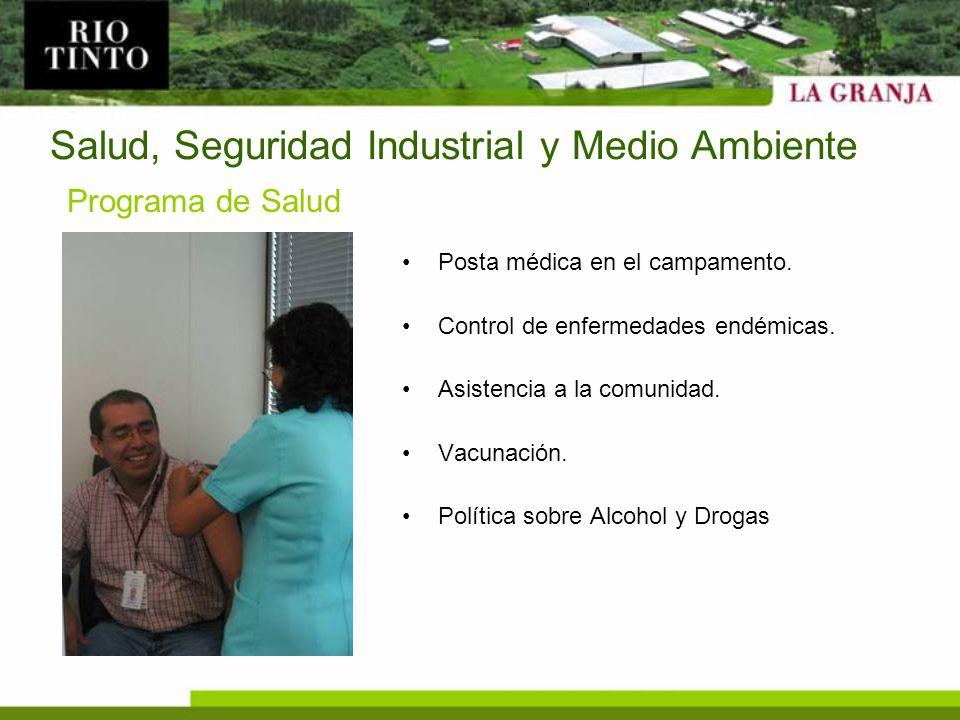 Salud, Seguridad Industrial y Medio Ambiente