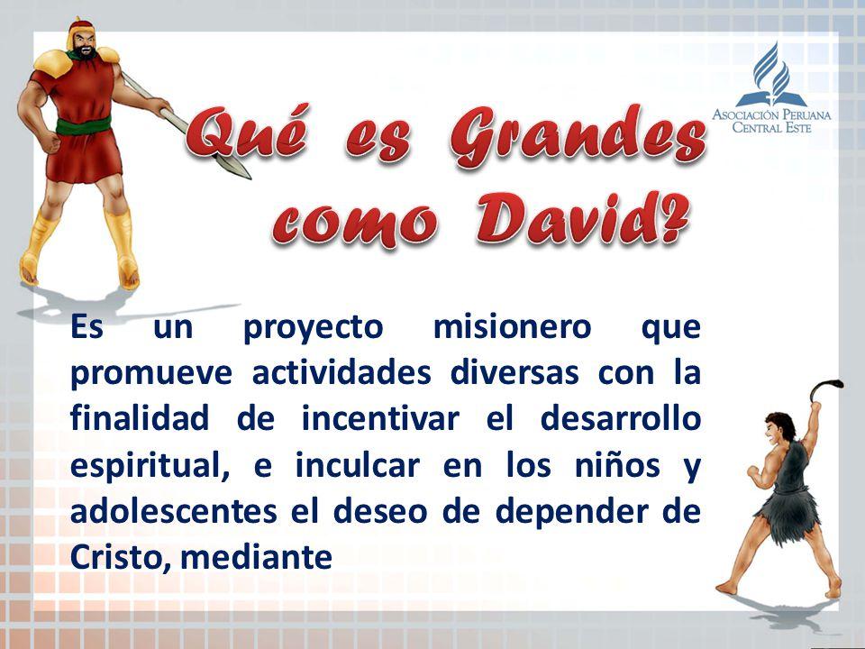 Qué es Grandes como David