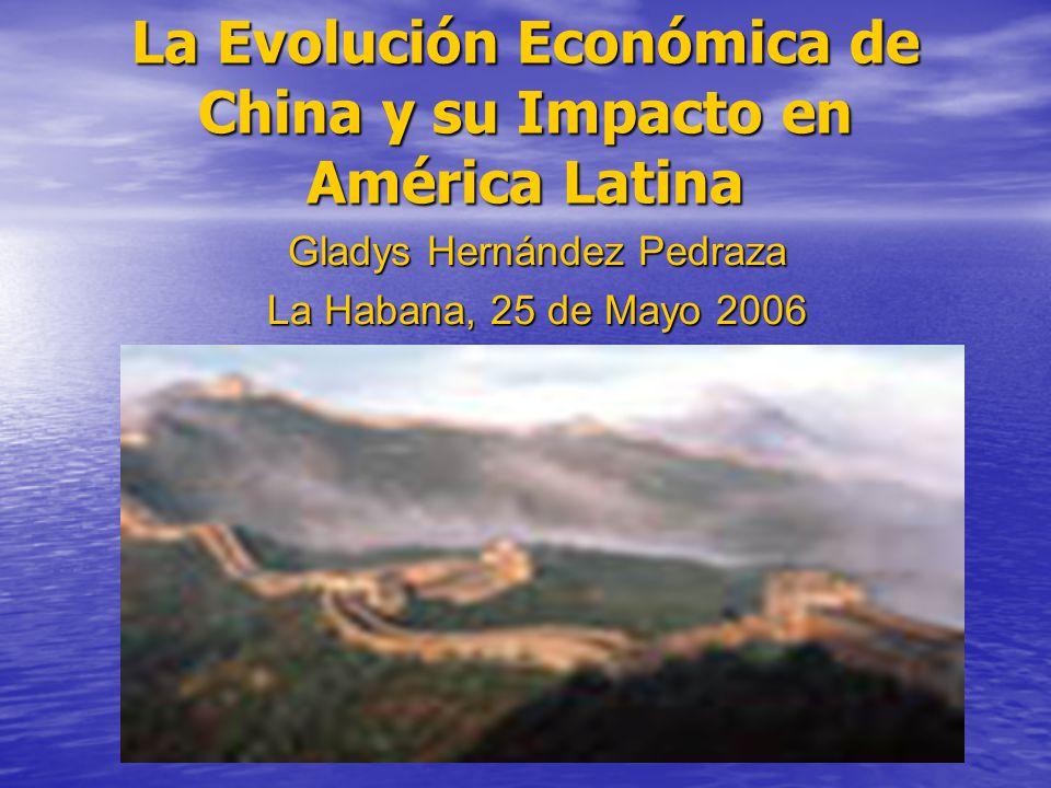 La Evolución Económica de China y su Impacto en América Latina