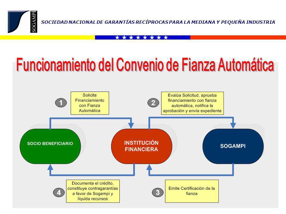 Funcionamiento del Convenio de Fianza Automática