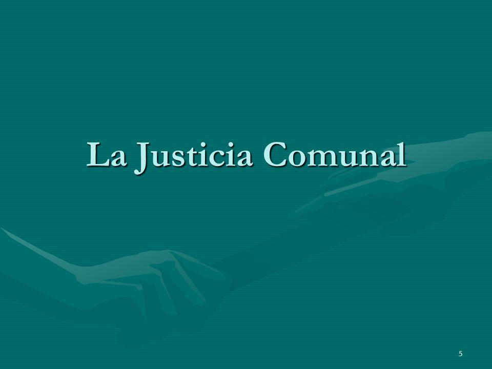 La Justicia Comunal