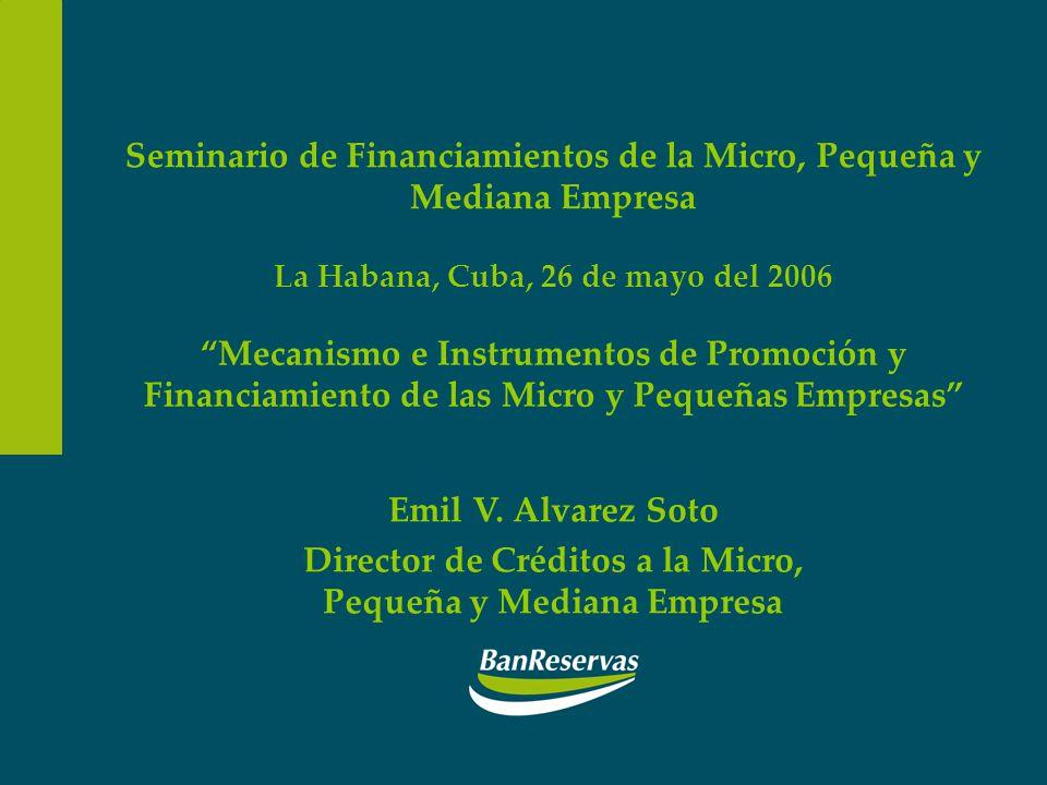 Seminario de Financiamientos de la Micro, Pequeña y Mediana Empresa