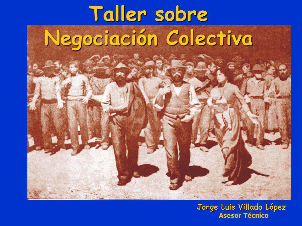 Taller sobre Negociación Colectiva
