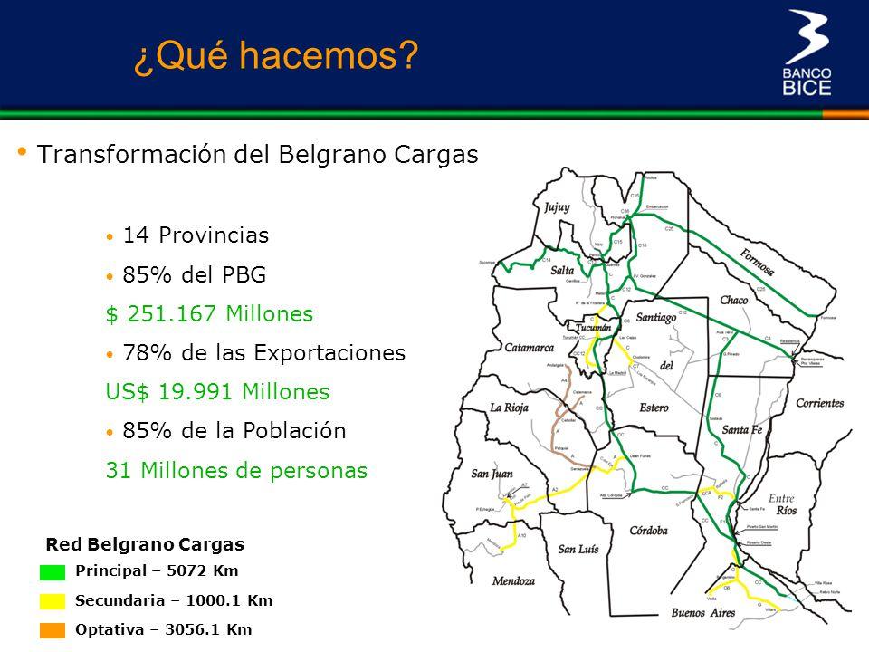 Transformación del Belgrano Cargas