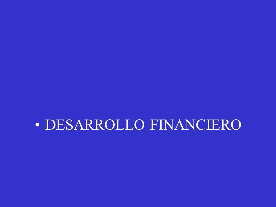 DESARROLLO FINANCIERO
