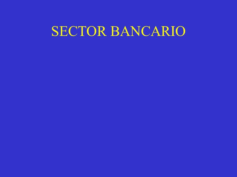 SECTOR BANCARIO
