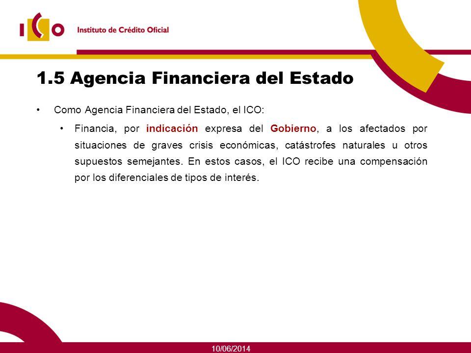 1.5 Agencia Financiera del Estado