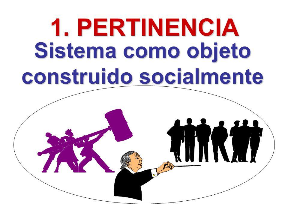 Sistema como objeto construido socialmente