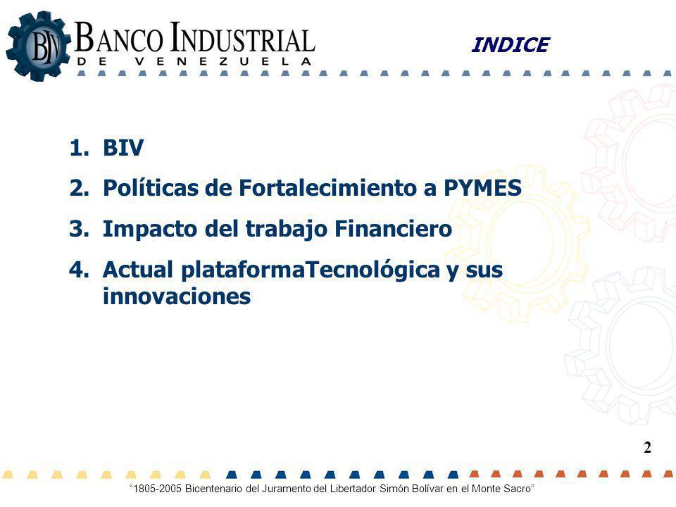 Políticas de Fortalecimiento a PYMES Impacto del trabajo Financiero
