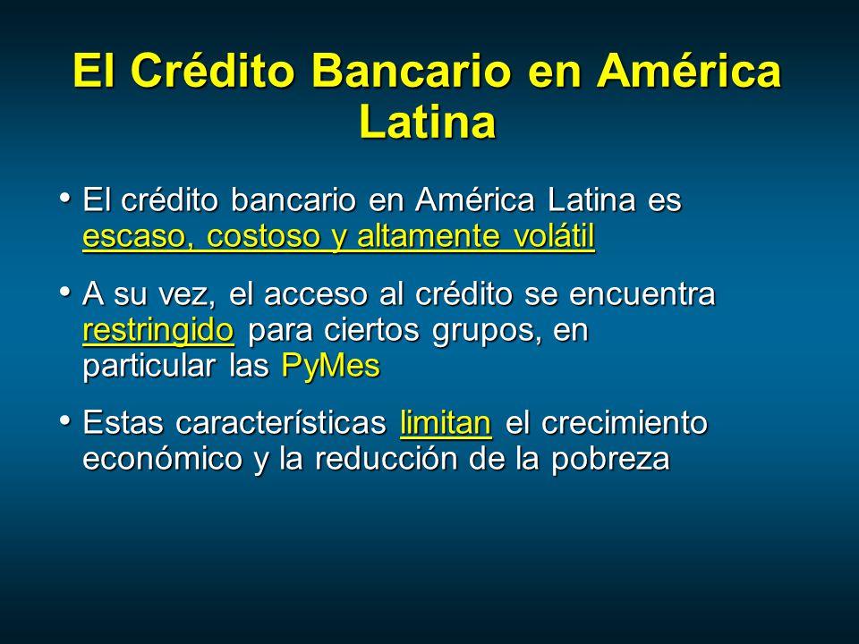 El Crédito Bancario en América Latina