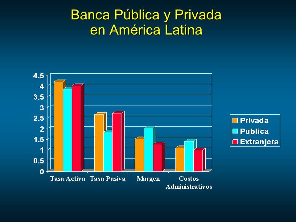 Banca Pública y Privada en América Latina