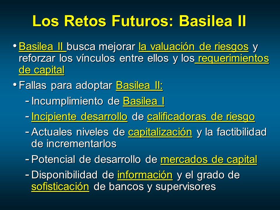 Los Retos Futuros: Basilea II
