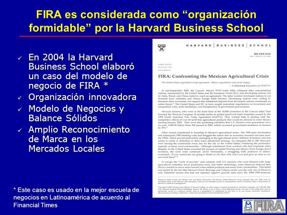 FIRA es considerada como organización formidable por la Harvard Business School