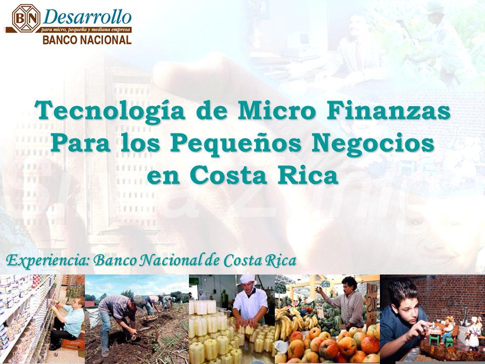 Tecnología de Micro Finanzas Para los Pequeños Negocios