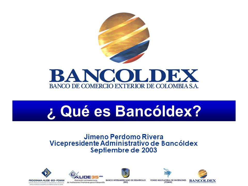 Vicepresidente Administrativo de Bancóldex