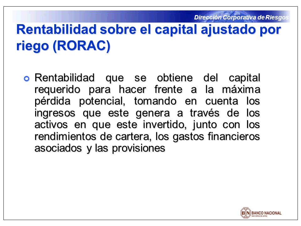 Rentabilidad sobre el capital ajustado por riego (RORAC)