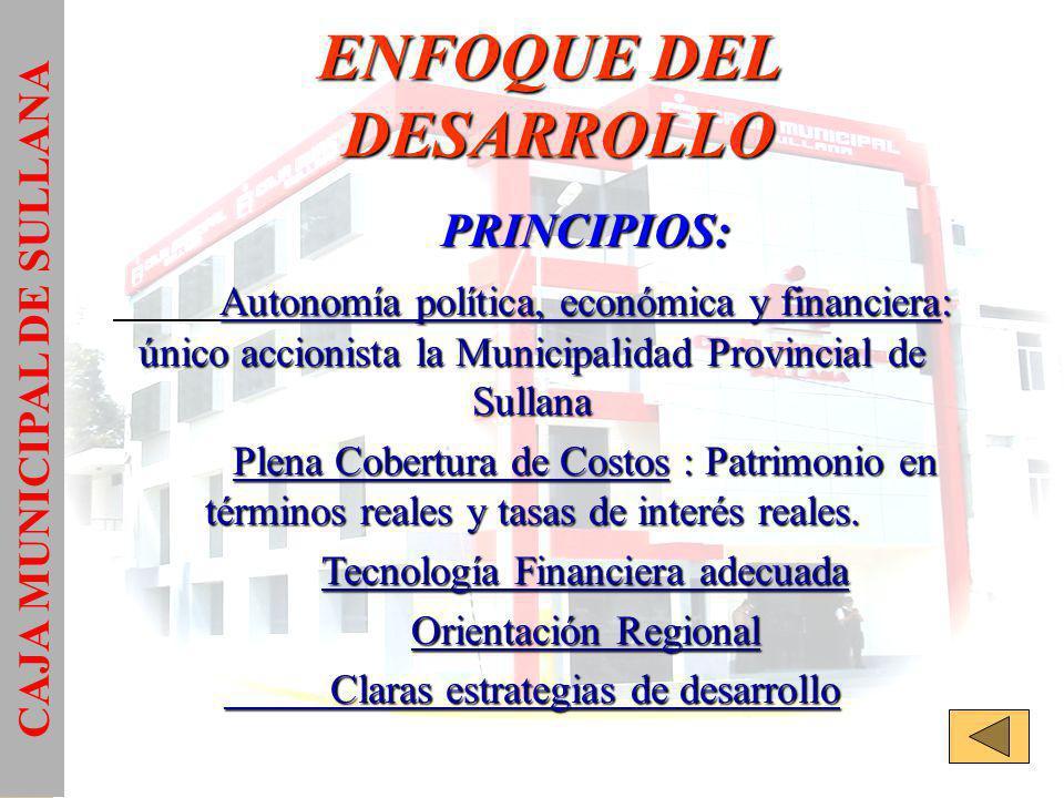ENFOQUE DEL DESARROLLO