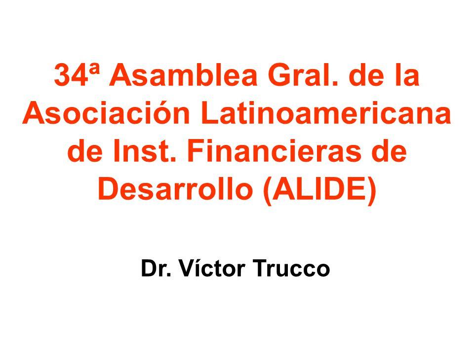 34ª Asamblea Gral. de la Asociación Latinoamericana de Inst