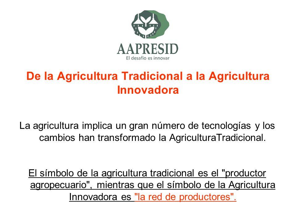 De la Agricultura Tradicional a la Agricultura Innovadora