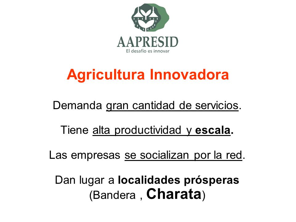Agricultura Innovadora