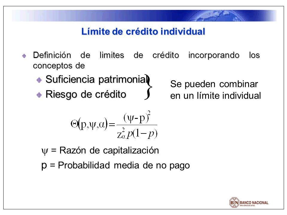 Límite de crédito individual