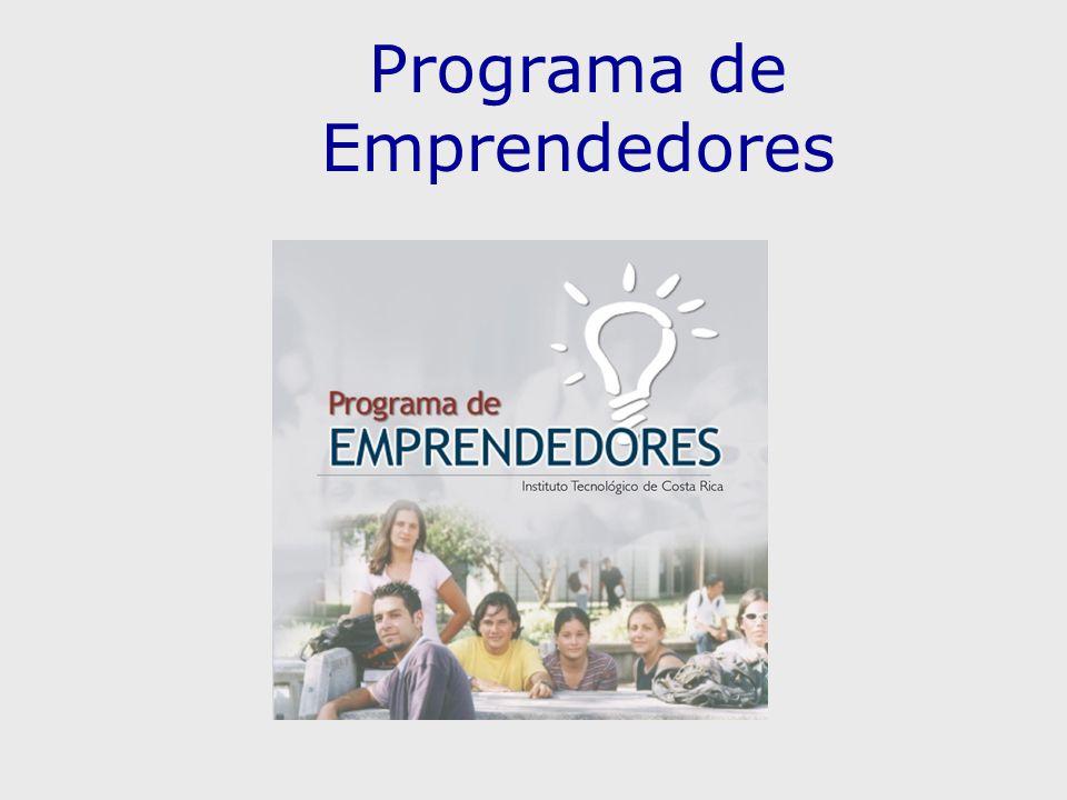 Programa de Emprendedores