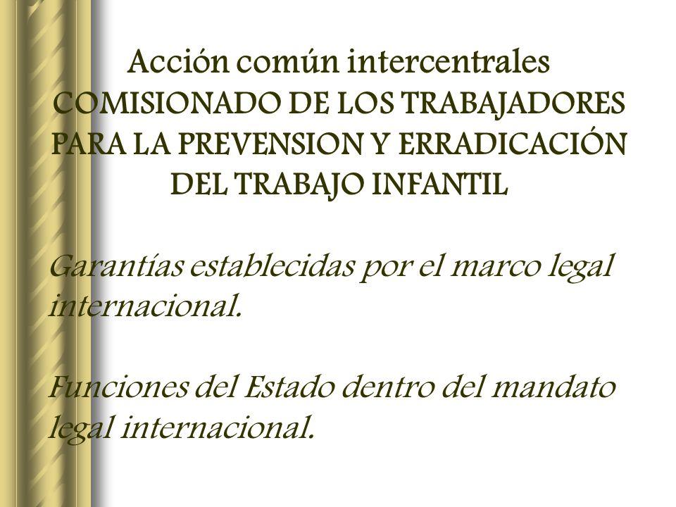 Acción común intercentrales