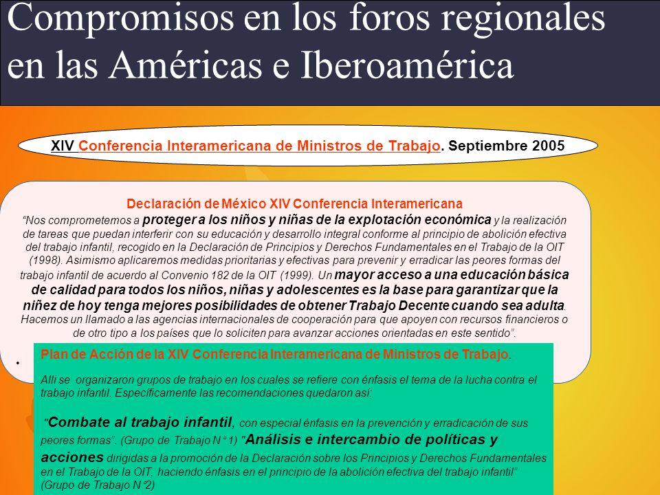 Declaración de México XIV Conferencia Interamericana