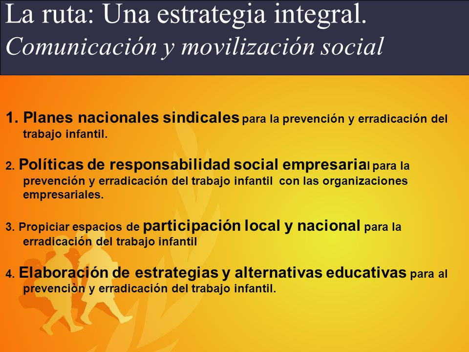 Programa IPEC en América Latina