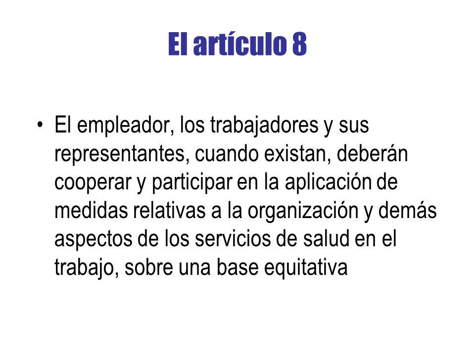 El artículo 8