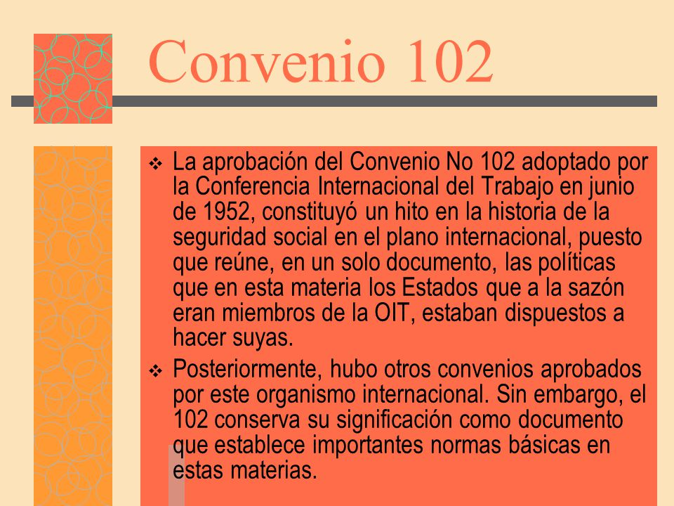 Convenio 102