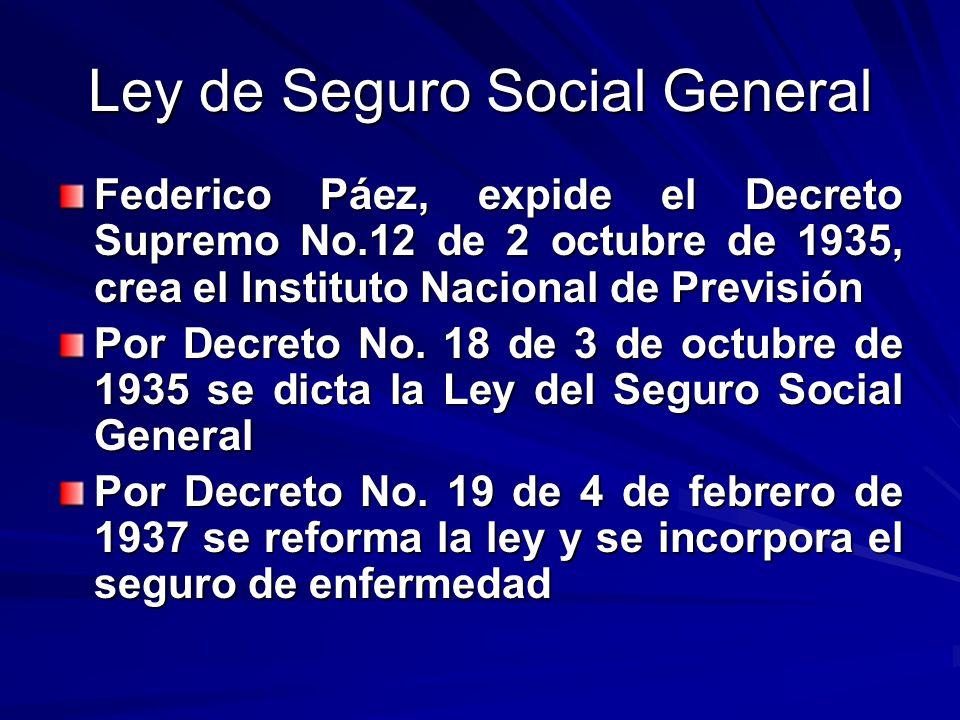 Ley de Seguro Social General