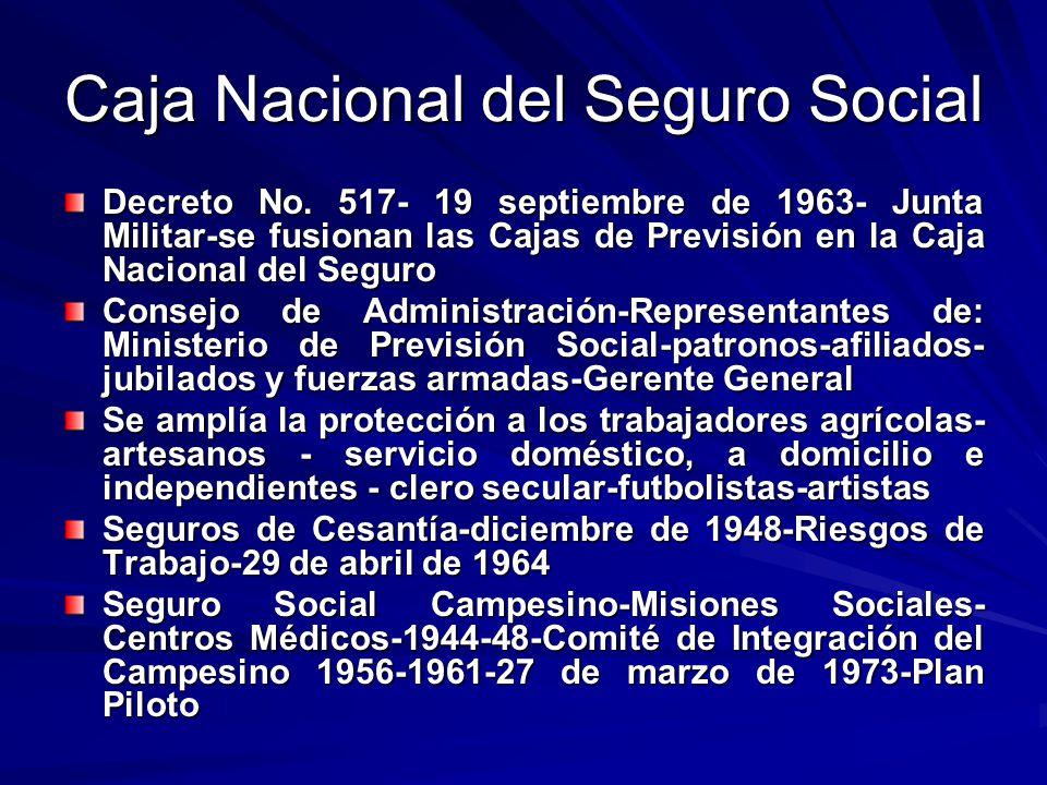 Caja Nacional del Seguro Social