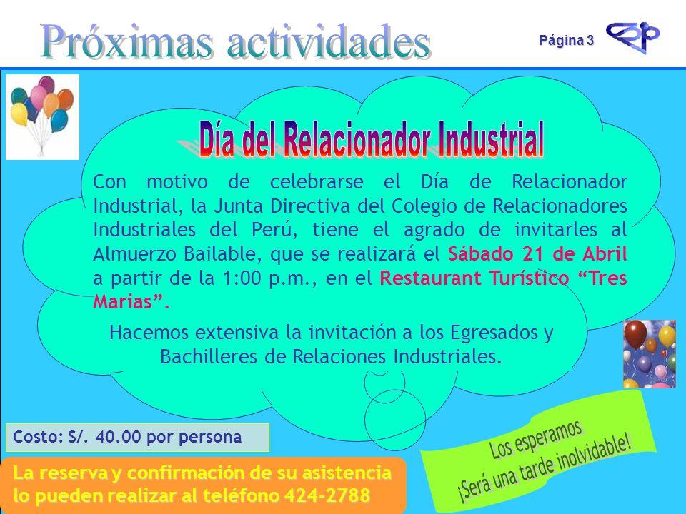 Día del Relacionador Industrial