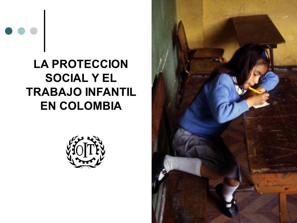 LA PROTECCION SOCIAL Y EL TRABAJO INFANTIL EN COLOMBIA
