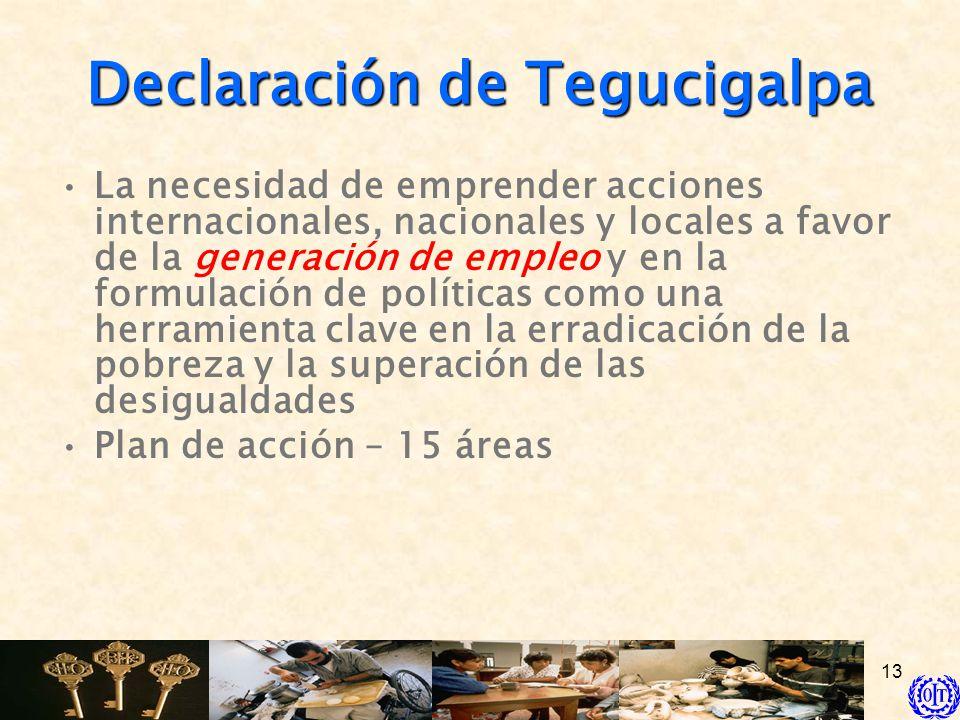 Declaración de Tegucigalpa