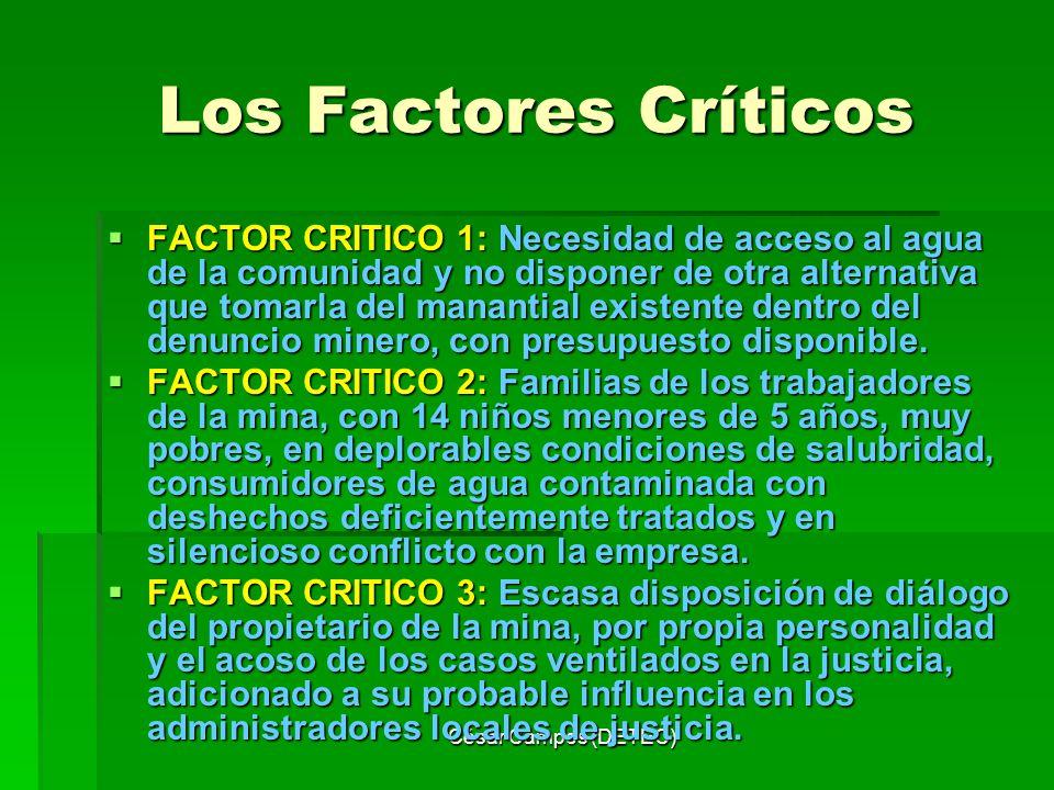 Los Factores Críticos