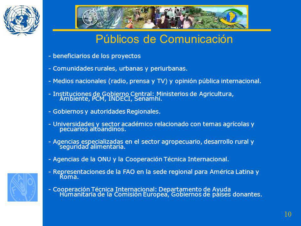 Públicos de Comunicación