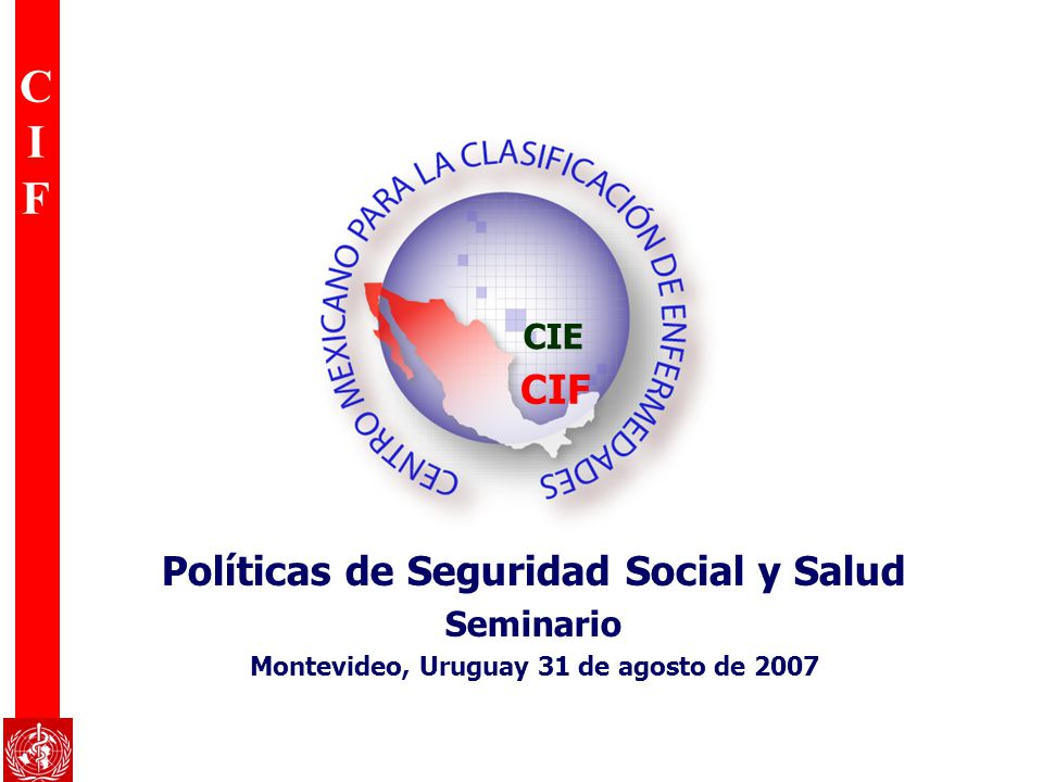 CIF Políticas de Seguridad Social y Salud