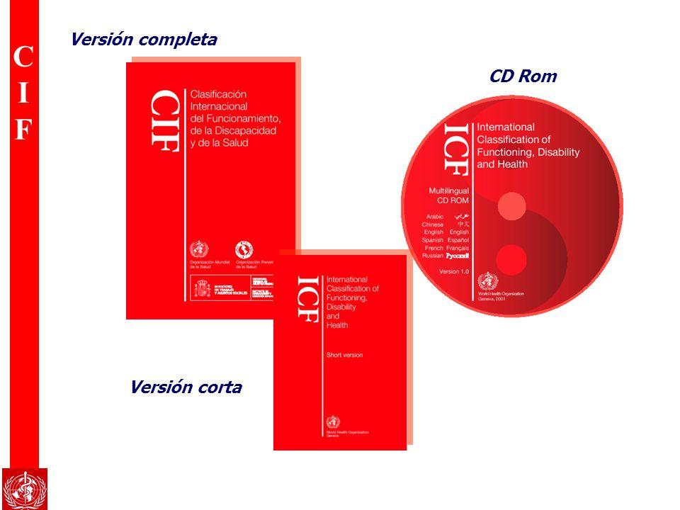 Versión completa CD Rom Versión corta