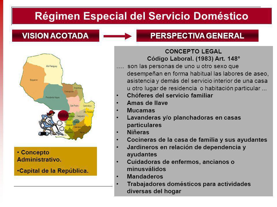 Régimen Especial del Servicio Doméstico