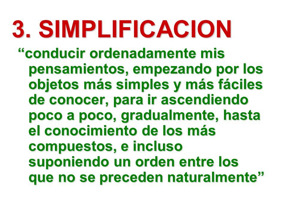 3. SIMPLIFICACION
