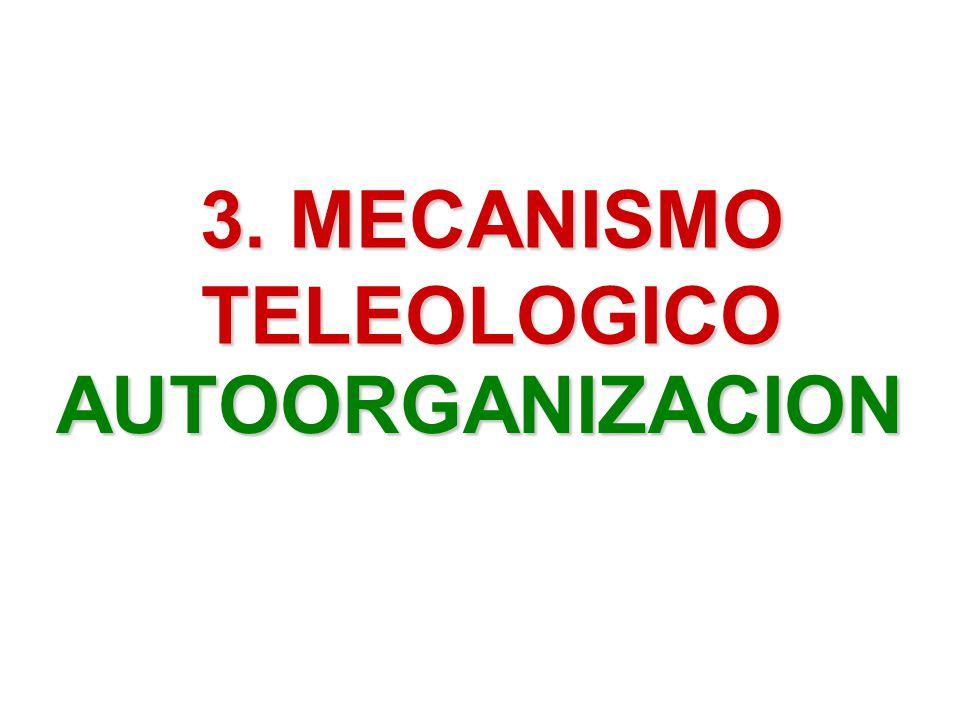 3. MECANISMO TELEOLOGICO
