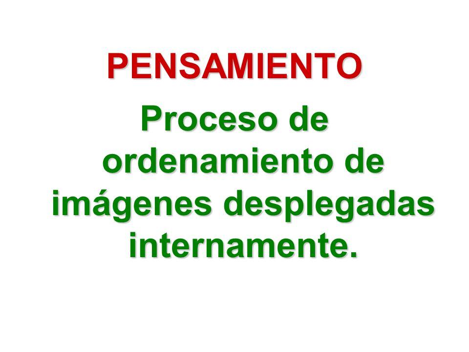 Proceso de ordenamiento de imágenes desplegadas internamente.