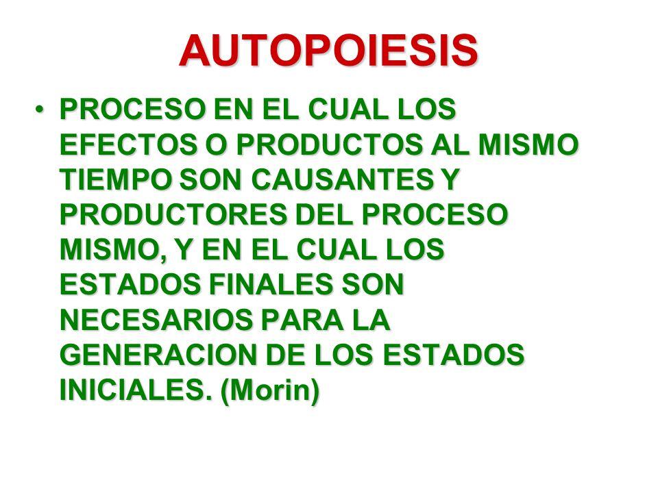 AUTOPOIESIS
