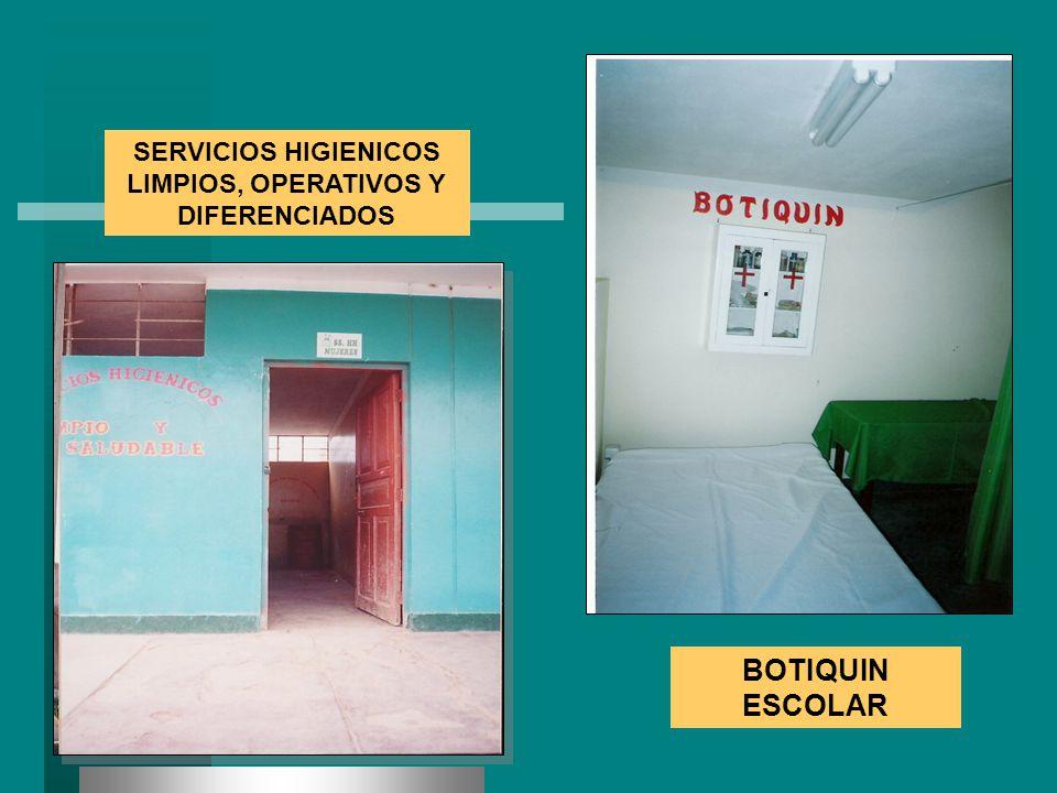 SERVICIOS HIGIENICOS LIMPIOS, OPERATIVOS Y DIFERENCIADOS