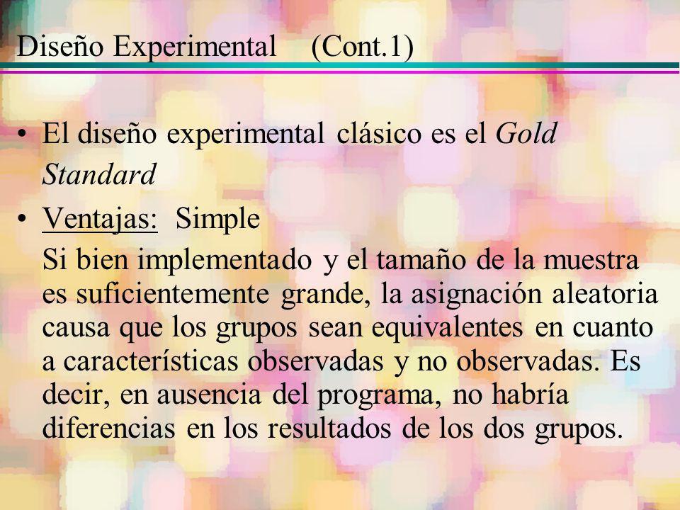 Diseño Experimental (Cont.1)