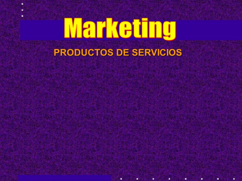 PRODUCTOS DE SERVICIOS